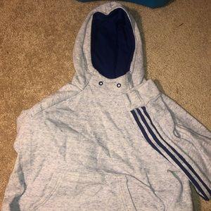 Light Blue Adidas Sweatshirt